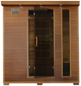 4 Person Klondike Infrared Sauna with Carbon Heaters