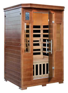 2-3 Person Hemlock InfraWave Majestic Sauna w/ 6 Carbon Infrared Heaters