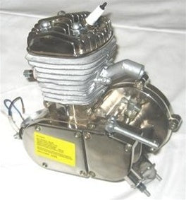 Complete Chrome 80cc Motor Bicycle Engine Kit