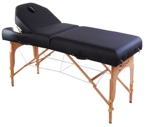 "Black Soozier 4"" Thick Portable Massage Table"