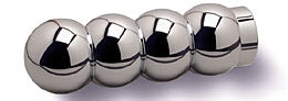 Custom Chrome Billet Ball Shaped Motorcycle Hand Grips