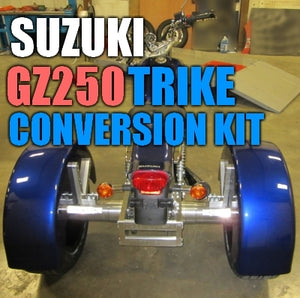 Suzuki GZ250 Motorcycle Trike Conversion Kit