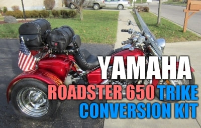 Yamaha Roadster 650 Motorcycle Trike Conversion Kit