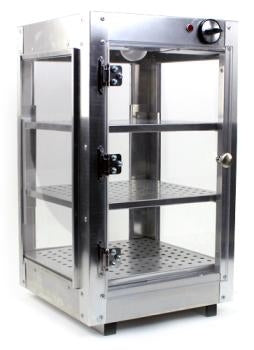 14x14x24 Aluminum Food Warmer Display Case
