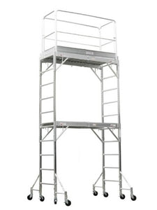 Brand New Heavy Duty 12' Aluminum Scaffold Rolling Tower