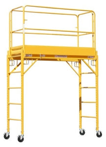 Brand New Heavy Duty 6' Deck High Scaffold Rolling Tower With Guard Rail