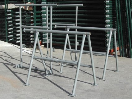 Brand New Heavy Duty Set of 100 2' Folding Trestle Extensions Scaffold A Frames