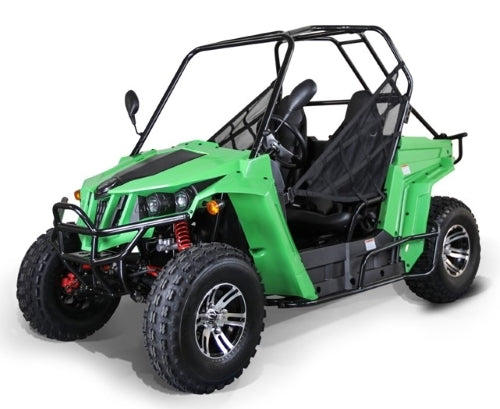 150cc Enforcer XL UTV Golf Cart Utility Vehicle W/Custom Rims/Tires