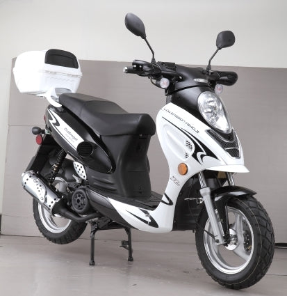 Brand New 150cc Challenger Sport Moped Scooter