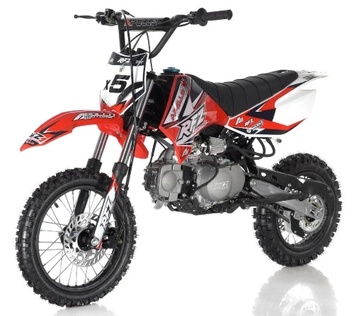125cc Dirt Bike Apollo Series 4 Speed Manual Pit Bike - DB-X5