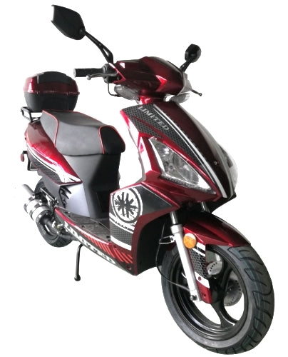 Road Master 50cc Moped Scooter with 13