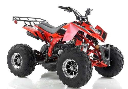 Apollo Series 125cc ATV Sniper Sport DLX Fully Automatic w/Reverse Cali Legal Sport Four Wheeler - SNIPER 125cc DLX