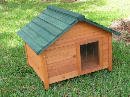 High Quality Small Classic Cedar Dog House
