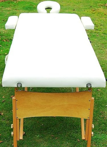 Creme Portable Massage Table Bed