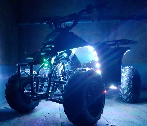 110cc Atv LED Edition Full Automatic Coolster Mini Atv - 3050C