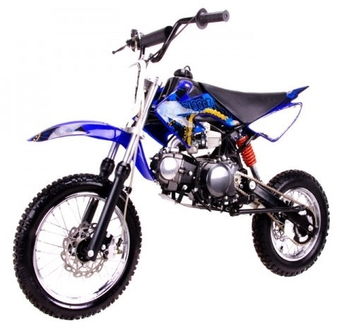 Coolster Dirt Bike 125cc Semi Auto Mid Size Dirt Bike - QG-214S