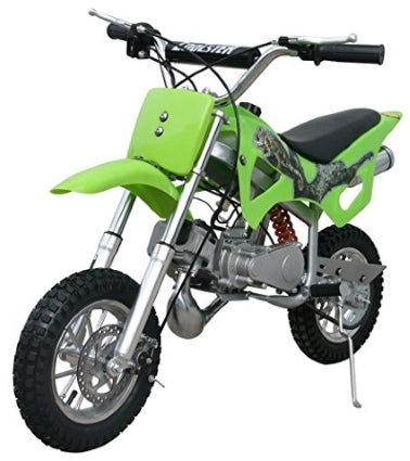 49cc Fully Auto Mini 2-Stroke Pull Start Mini Dirt Bike - QG-50