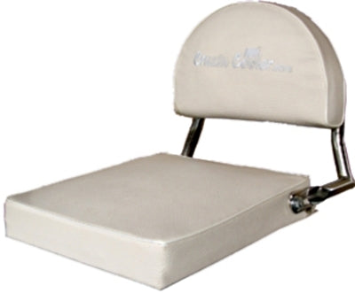 Padded Seat with Backrest for Scooter Coolers