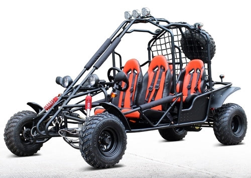 200cc Size Big Go Kart 4-Seater 169cc Off-Road Fully Automatic - DF200GKE