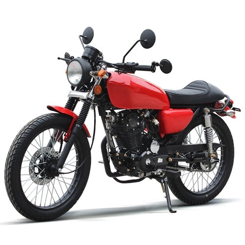 250cc Motorcycle RTG 5 Speed Manual Retro Street Bike - DF250RTG