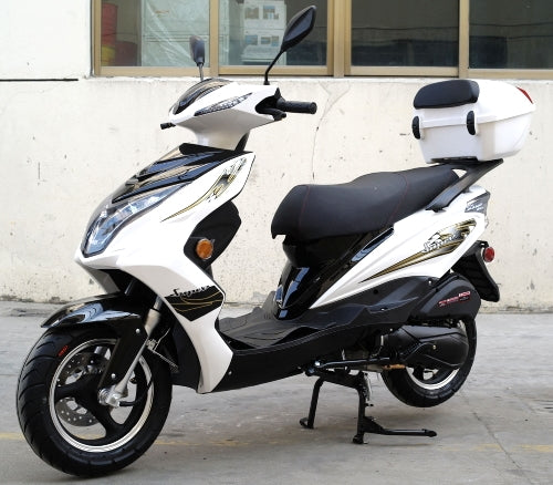 200cc Gas Moped Scooter Automatic CVT Sport Style - Super 200