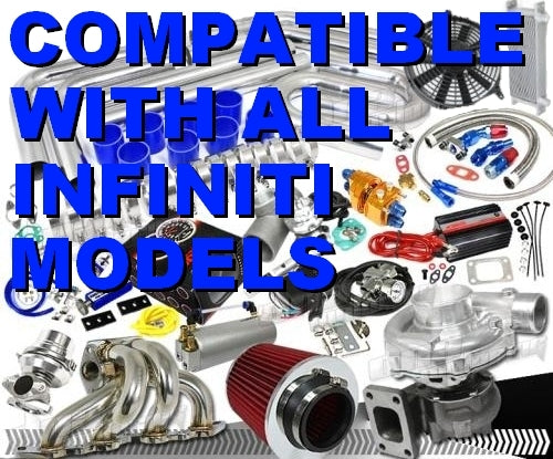 Brand New Complete Infiniti High Performance Turbo / Charger Universal Kit (Gain 200+ H.P. - Complete Kit)