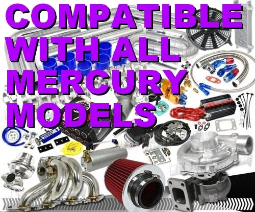 Awesome Complete Mercury High Performance Turbo / Charger Universal Kit (Gain 200+ H.P. - Complete Kit)