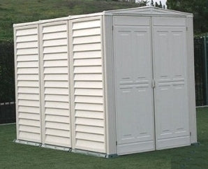 Duramax 5x8 Yardmate Vinyl Garden Shed with Floor