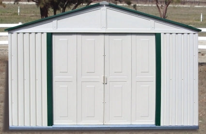 Duramax 10x6 Outdoor Teton Storage Shed with Foundation
