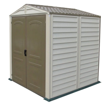 Duramax 6x6 StoreMate Vinyl Storage Shed with Floor