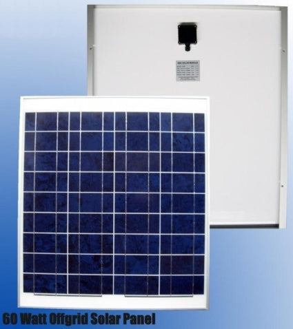 High Quality 60 Watt Off Grid Solar Panels 12V Battery Charger - 5 Pieces, 300 Total Watts