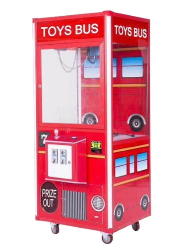 Toy Bus Plush Crane 33