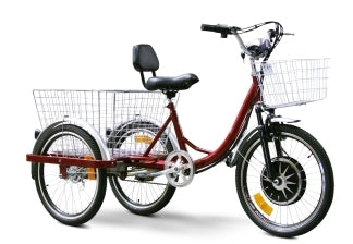 EW88L E-Wheels Electric Trike Bicycle Moped With 450 Watt Motor