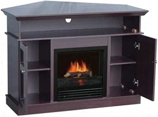 High Quality Flametec Corner Electric Fireplace