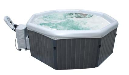 5-6 Person Tuscany Grande Round Shape Bubble Spa Inflatable Hot Tub