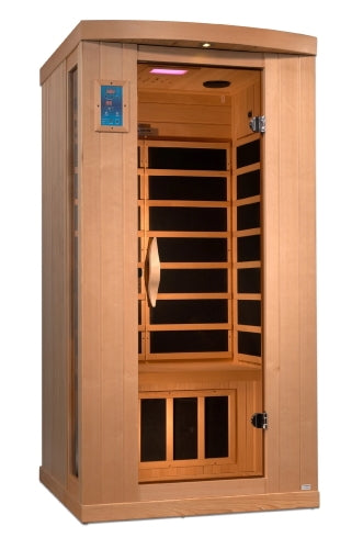 1 Person Near Zero EMF FAR Infrared Sauna - GDI-8010-01