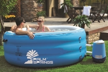 Pro Series Inflatable 4 Person Spa Hot Tub with Body Cover
