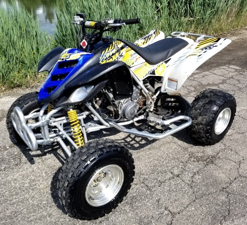 2004 Yamaha Raptor 660r Quad Atv Four Wheeler - Great Runner - Custom Stickers
