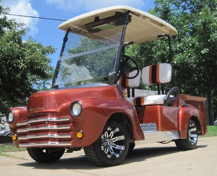 47' Old Truck Custom Club Car Precedent Gas Golf Cart