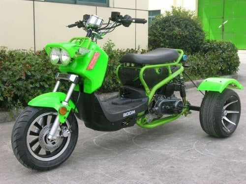49cc Mean Dogg Trike Scooter Gas Moped - Brand New