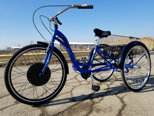 500 Watt Electric Powered Tricycle Motorized Trike 26