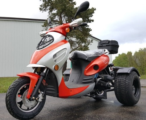 Brand New 50cc Demon Trike Scooter