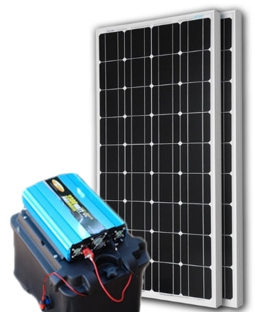 Solar Powered Generator 135 Amp 7000 Watt Solar Generator Just Plug and Play