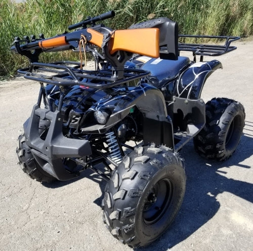 125cc Hunters Edition Four Wheeler Coolster 125cc Fully Automatic Mid Size ATV Four Wheeler w/ Large 19