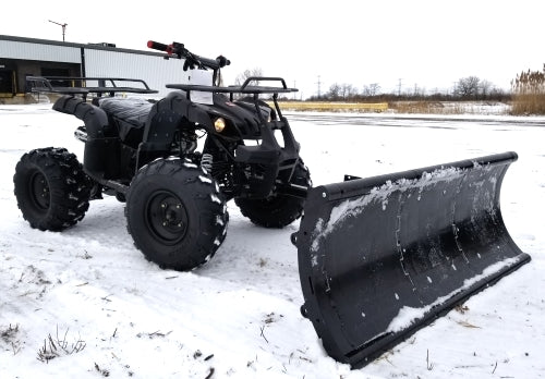 125cc Fully Automatic ATV Four Wheeler With Snow Plow UTV Utility Vehicle Snow Puncher - ATV-3125XR8-U-Plow