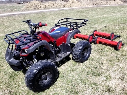 125cc Atv With Mower Lawn Muncher - Old Fashioned 49
