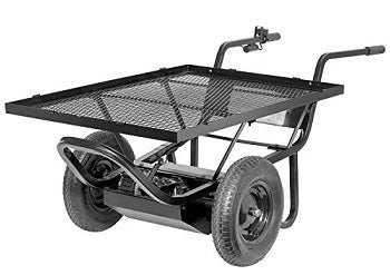 Electric Powered Motorized Utility Cart - 6cu Feet
