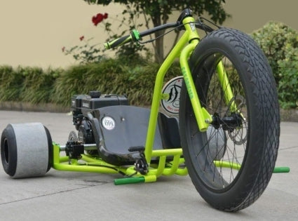 Brand New Gas Powered Drift Trike Tricycle Bike Fat Ryder Motorized Big Wheel