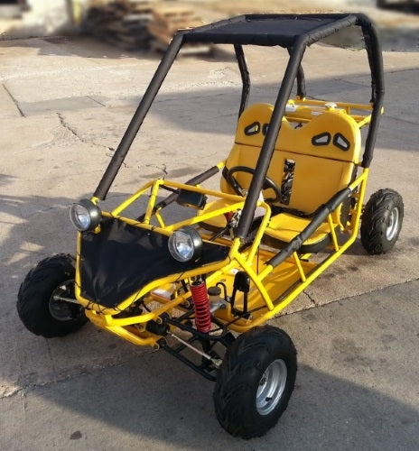 125cc Hammer Go Kart Great for Adults & Juniors Fully Automatic with Reverse Go Kart