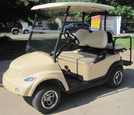 Carmel Beige 48v Electric PT Cruiser Custom Club Car Golf Cart